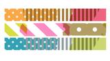 MT Masking tape SLIM deco set E_