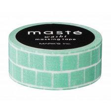 Masking tape Masté groene blokken
