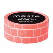 Masking tape Masté oranje blokken