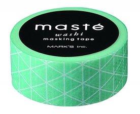 Masking tape Masté triangle mintgroen