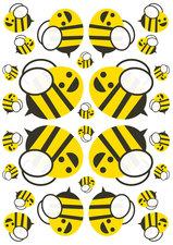 Fietsstickers blije bijen