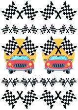 Fietsstickers racing