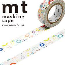 MT Masking tape colorful pop