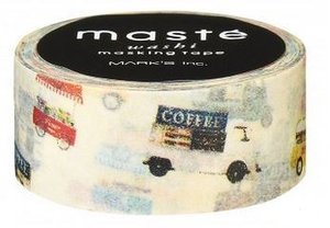 Masking tape Masté bestelwagens