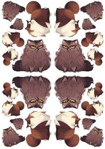 Fietsstickers kat Lucy