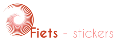 logo fiets stickers